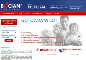 strona główna bocian pożyczki