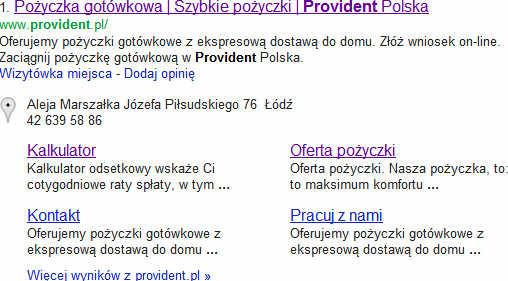 provident w google